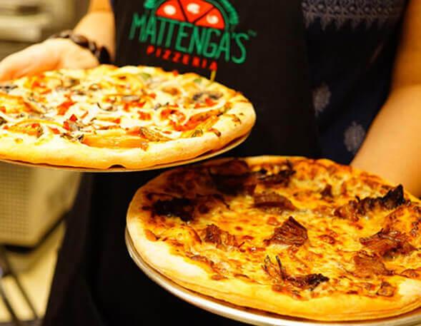 Mattenga's Pizzeria testimonial